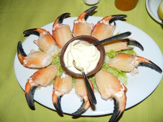 Manitas de Cangrejo Restaurante Kiel