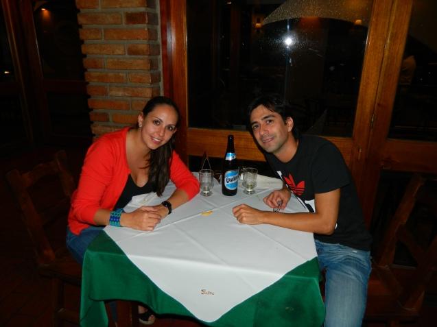 Con mi amigo Diego