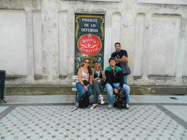 Gran día de paseo con Juancho, Lau y Juan.