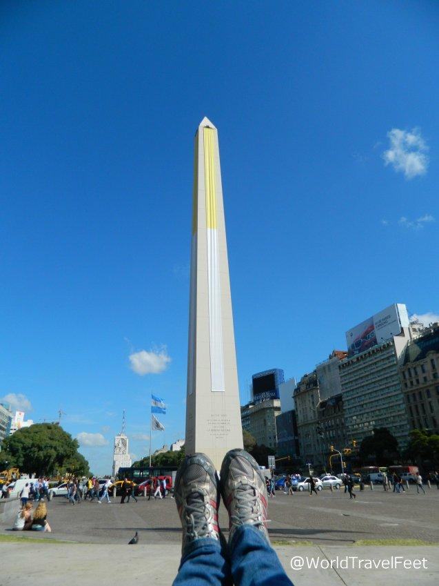 Obelisco, emblema de Buenos Aires