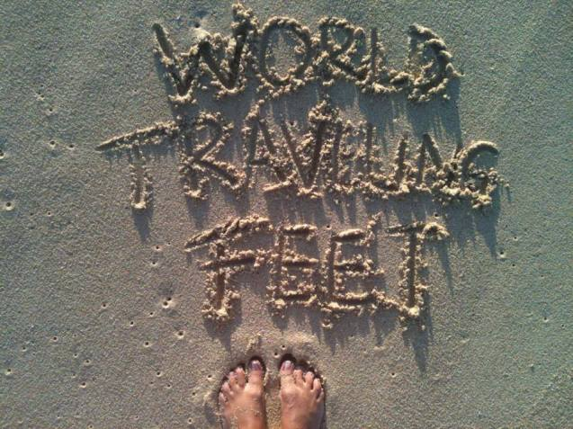 arena traveling feet
