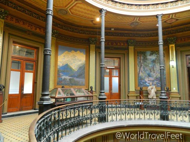 Museo de Ciencias Naturales de La Plata por dentro.