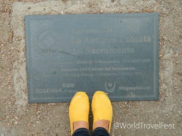 Mis Pies Viajeros sumando un caminar más por un Patrimonio de la UNESCO