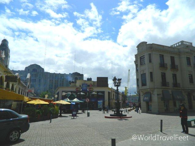 Plaza del Mercado del Puerto.