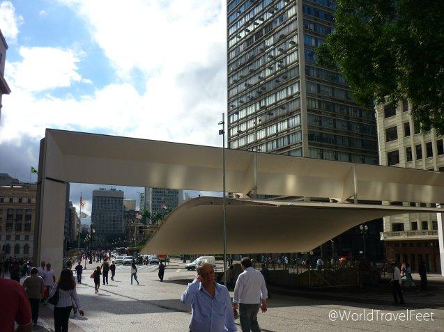 Eclecticismo arquitectónico en Sao Paulo.