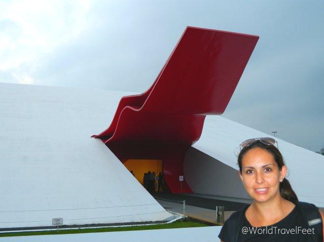 Auditorio Ibirapuera, obra de Neimayer