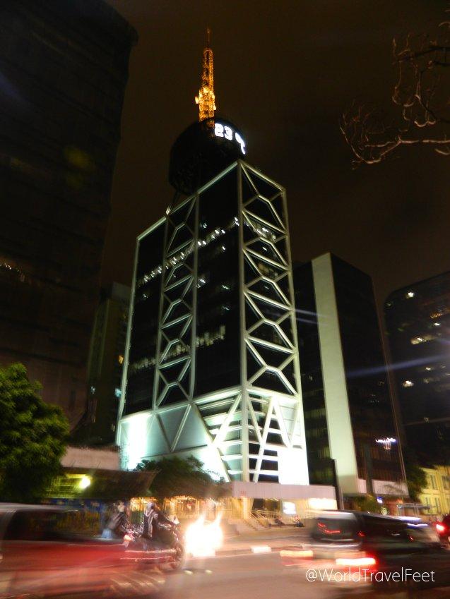 Caminando por Av. Paulista