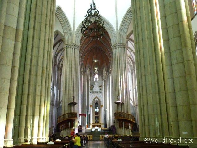 Interior de la Catedral de la Asunción de María.