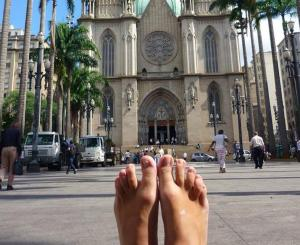 catedral y pies