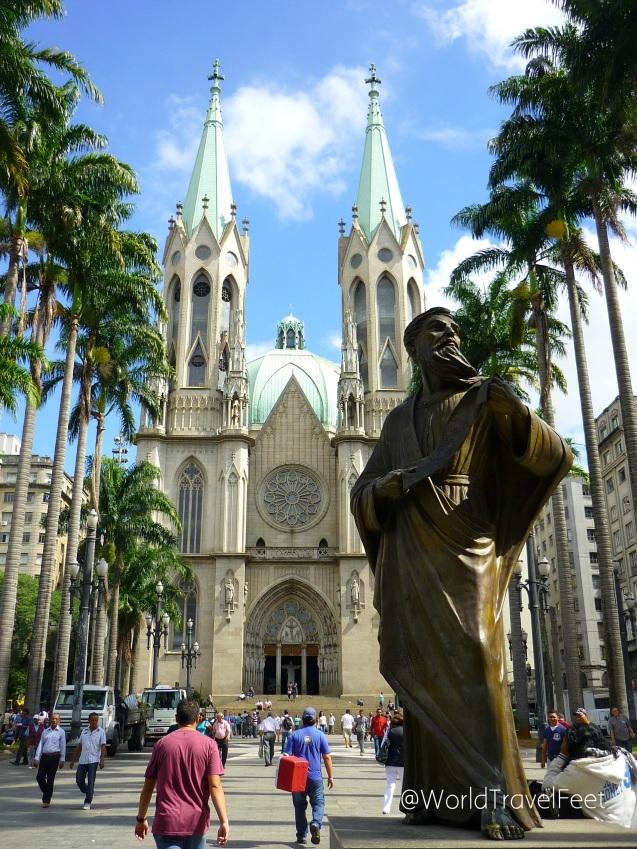 Catedral de la Asunción de María en São Paulo.
