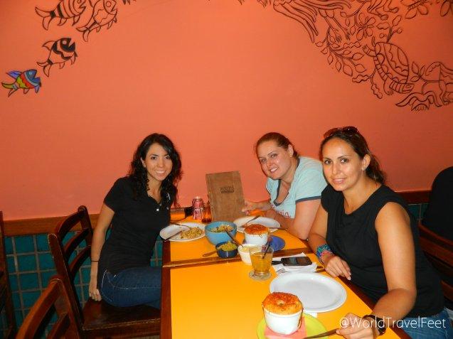 Devorando en Mocotó, uno de los 50 mejores restaurantes de Latinoamérica.