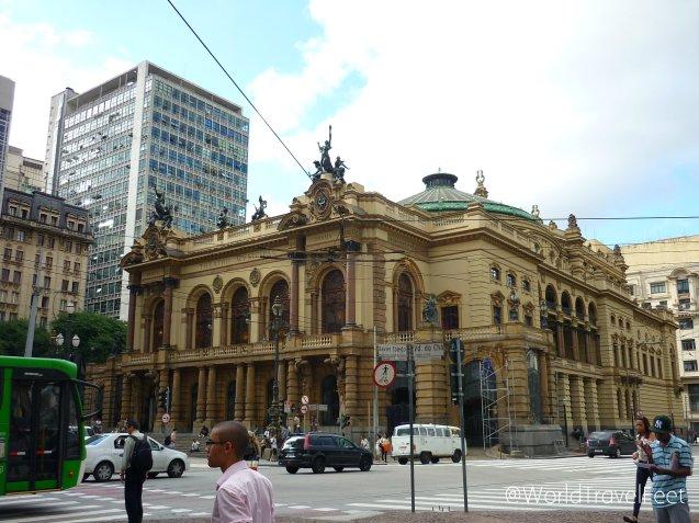 Teatro Municipal de Sao Paulo.
