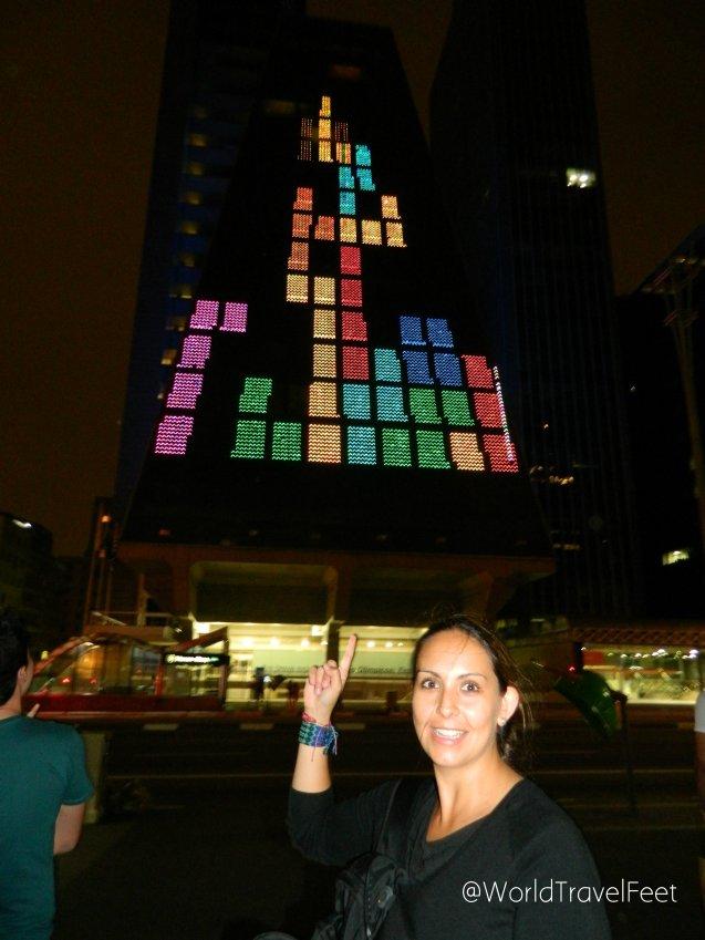 ¡Yo también quiero jugar Tetris con ese edificio!