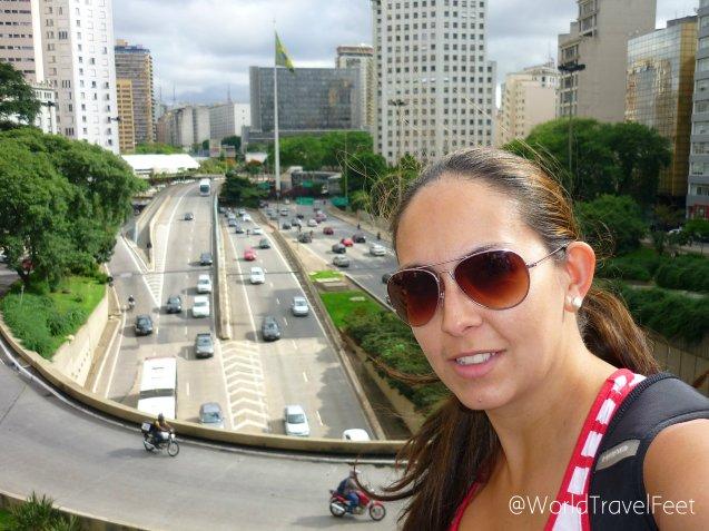 Imágenes viales en la Ciudad de São Paulo.