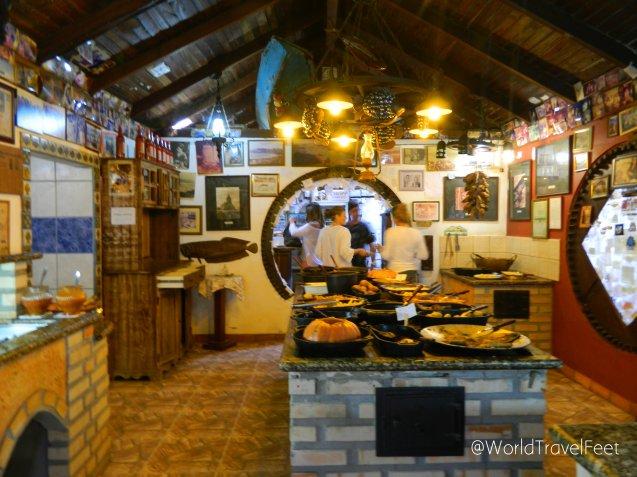 """Buffet en el """"Restaurante Aronte"""""""