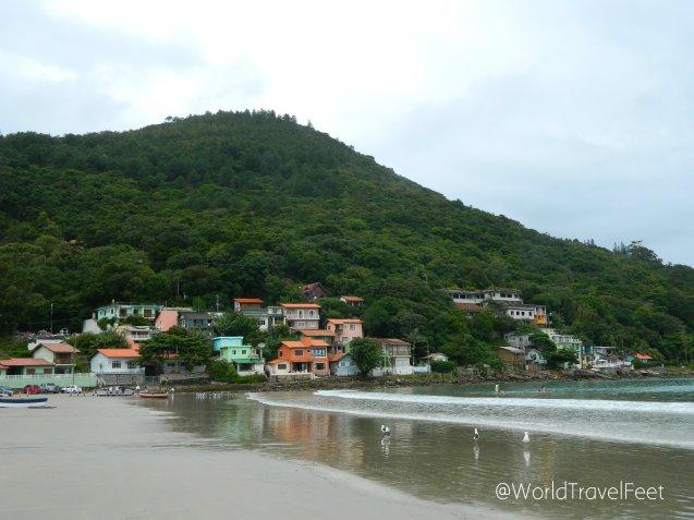 Pântanto do Sul, pueblo pesquero en la Isla de Santa Catarina.