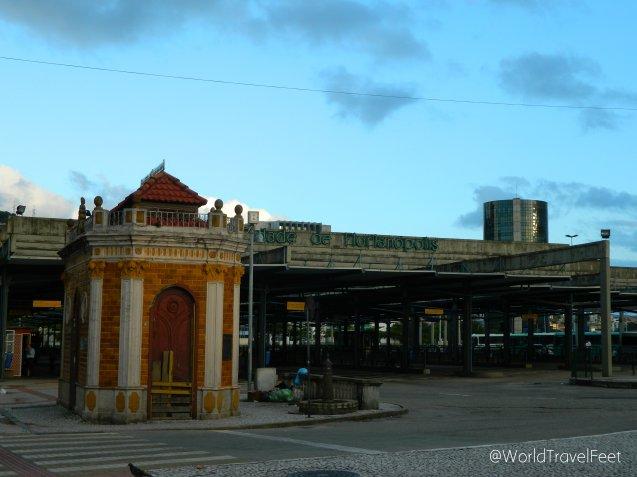 Estación de autobuses de Florianópolis.