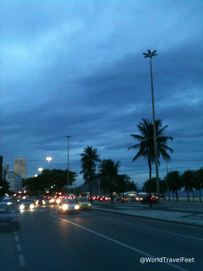 Caminando por Copacabana.