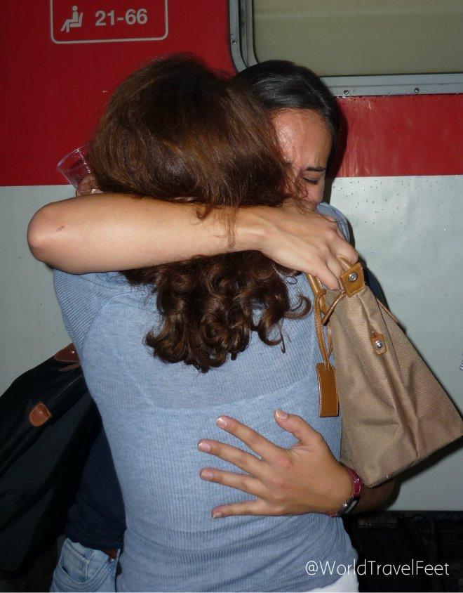 Cuando se trata de despedidas... mejor no toquemos el tema que me pongo a llorar.