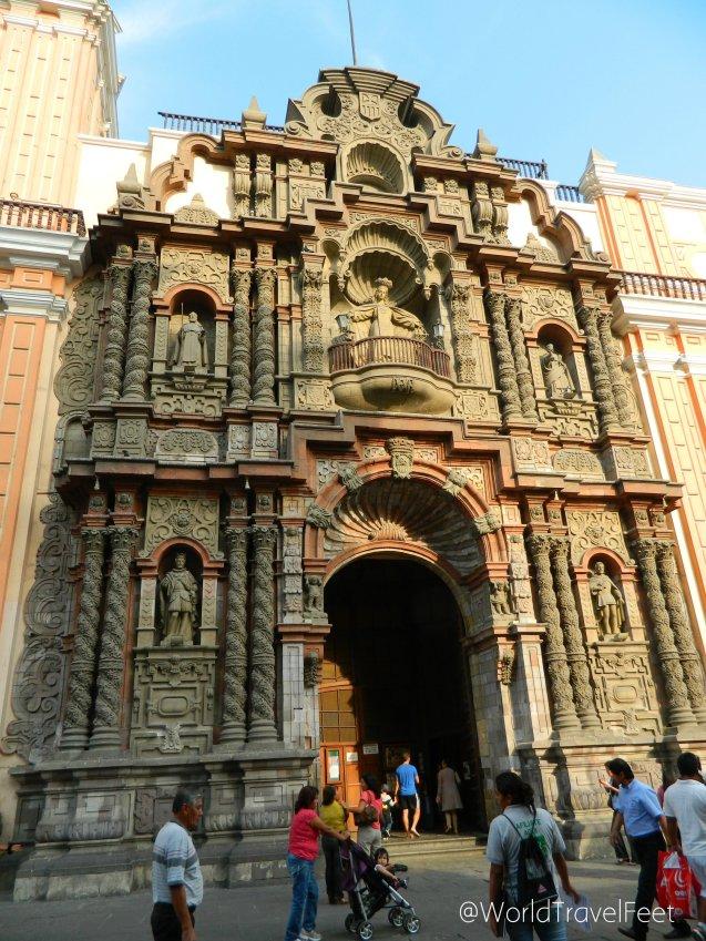 Basílica de Nuestra Señora de la Merced.