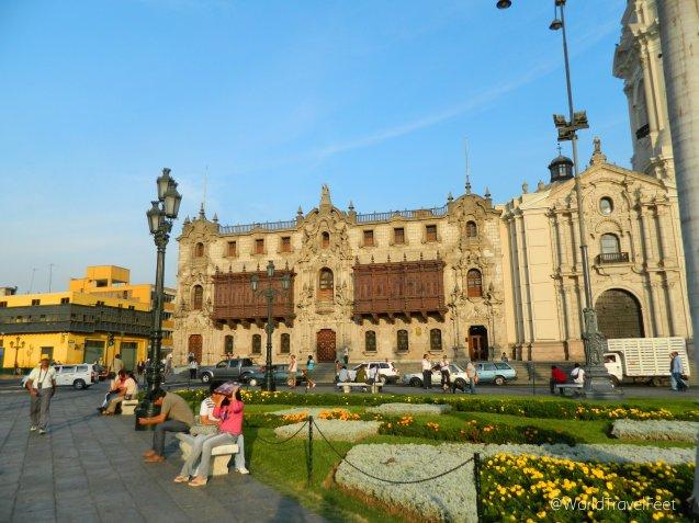 Palacio Arzobispal de Lima.