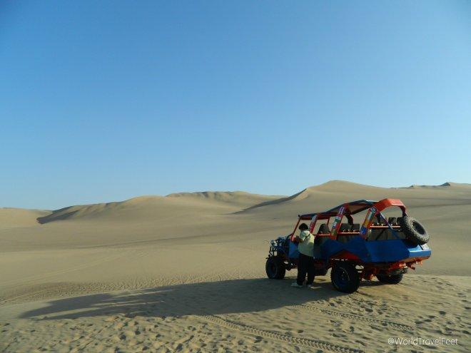 Boogie y dunas de arena... la mancuerna perfecta.
