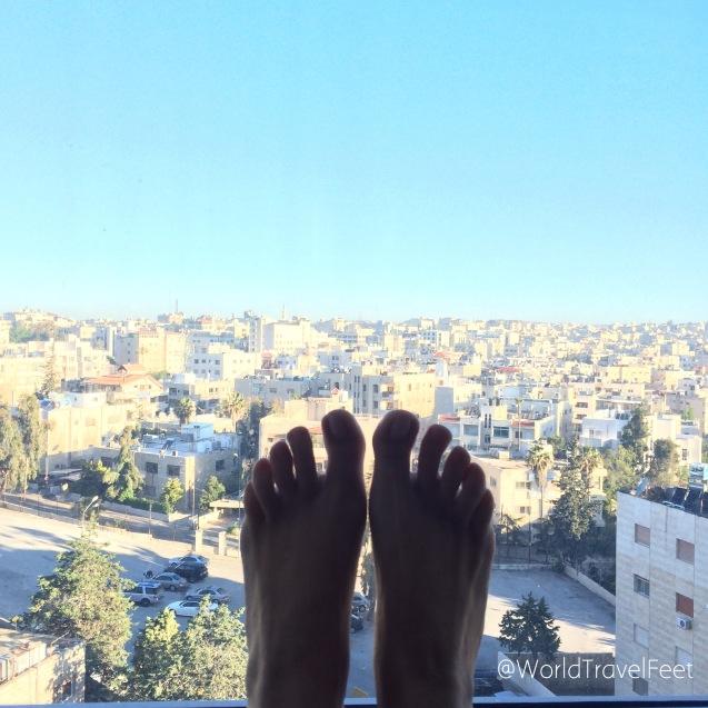 ¡Buenos días Ammán! ¡Buenos días Jordania!