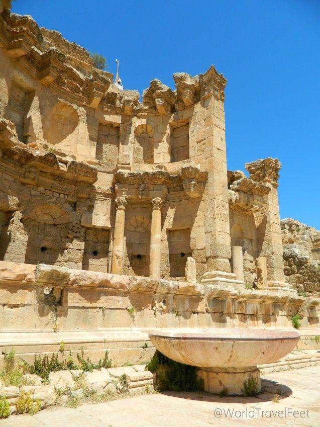 El Ninfeo de Gerasa, Jordania.