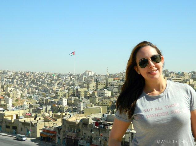 """Ammán, capital de Jordania, la ciudad blanca, la cuidad en la que todas las casas son """"iguales""""."""