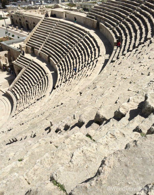 Gradas del Teatro Romano.