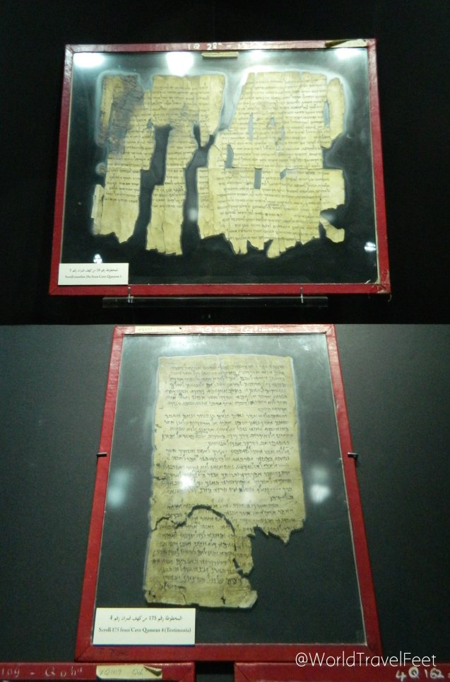 Papiros de los Manuscritos del Mar Muerto.