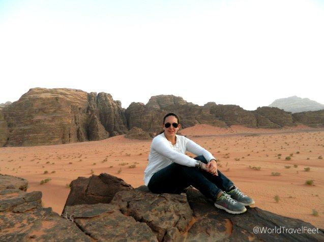 El universo, la magnitud del desierto y este pequeño ser humano: yo.